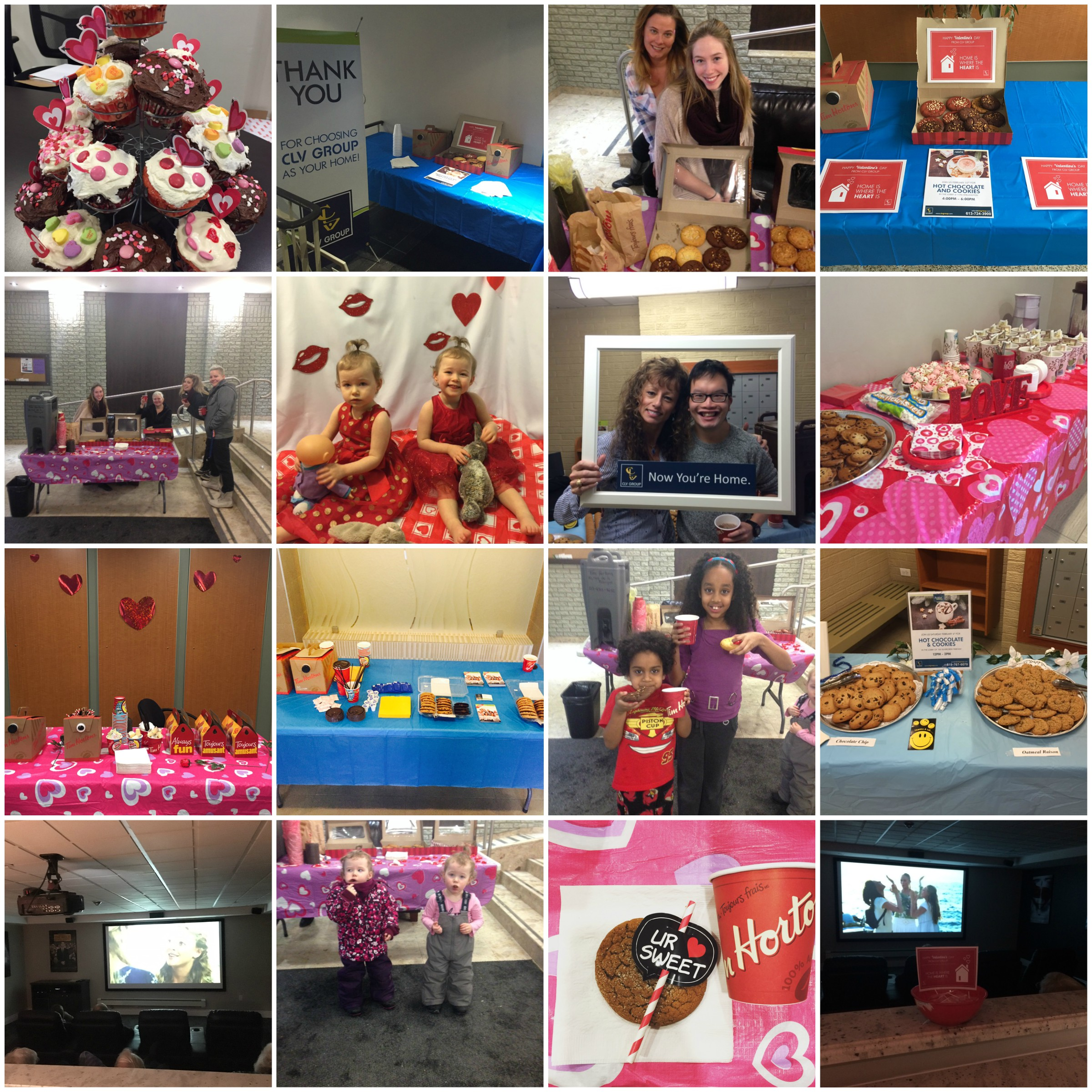 Some of our residents having a blast at their Valentine's Day events!
