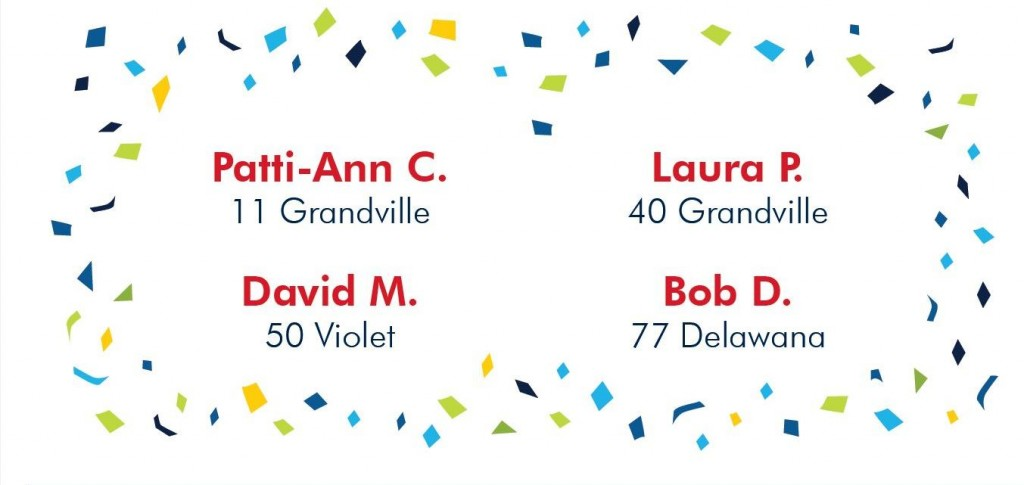 Congratulations to the winners of Stoney Creek's naming contest!