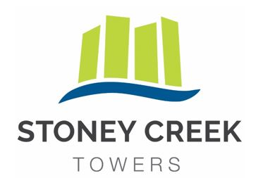 Our new Stoney Creek Towers logo!