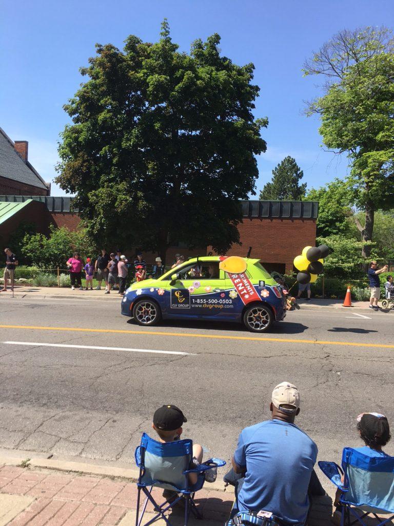 Streetsville-Bread-Honey-Festival-CLV-Group-Fiat-Parade